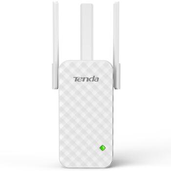 テンダ(Tenda)Wi-Fi信号増幅器無線信号拡張器強化信号ルータの中の続器は壁A 12 300 Mの三アンテナを通ります。