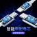 PISEN三合一線Apple Type-c Android携帯電話の充電線USB-C 3 Aによると、iPhone 11/Xs/SE Sham 10/oppo Fa-we vivo/ipad 1.2 mを充電します。